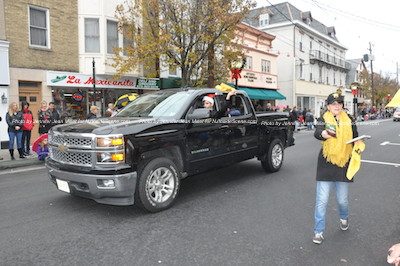 The Sussex County Miners in the parade. Photo by Jennifer Jean Miller.