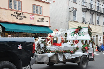 GNCC float makes its way down Spring Street. Photo by Jennifer Jean Miller.