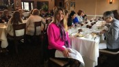 The Ginnie's House luncheon at Andre's, including Dr. Alexandra Miller. Photo provided.