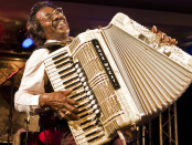 Buckwheat Zydeco. Courtesy of The Newton Theatre.