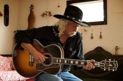 Arlo Guthrie in a self-portrait. Image provided.