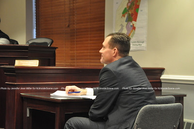 Tom Prol in his seat as Franklin Borough's new attorney. Photo by Jennifer Jean Miller.