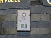 "The police department in Newton New Jersey is now equipping each officer with a ""BodyVision"" camera. Image provided."
