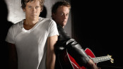 The Bacon Brothers, Kevin and Michael Bacon, will be appearing at The Newton Theatre. Image provided.