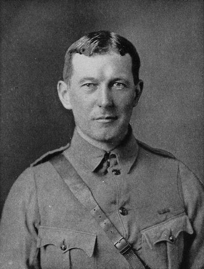 Lt. Col John McCrae, MD. Public Domain Image.