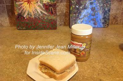 WOWBUTTER and banana sandwich, photo by Jennifer Jean Miller.