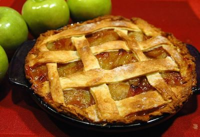 Apple Pie has become a July 4th food favorite. Creative commons image by Dan Carsons.
