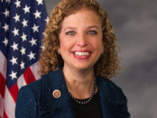 Debbie Wasserman Schultz who just resigned as DNC chair after she was evidenced as colluding with Hillary Rodham Clinton against Bernie Sanders for the Democratic Nomination. Public Domain Image.