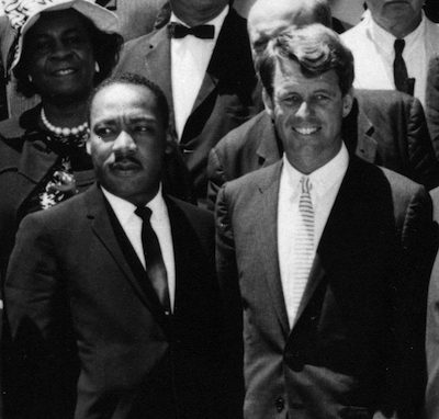 "AR 7993-B (crop) 22 June 1963 Civil Rights Leaders meet with the Vice President, Attorney General, and other officials. White House. Please credit ""Abbie Rowe, National Park Service/John Fitzgerald Kennedy Library, Boston""."