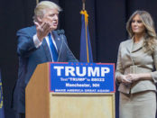Donald and Melania Trump, Creative Commons Image by Marc Nozell.