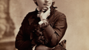 First Female Presidential Nominee Victoria Woodhull, public domain photo by Bradley Rulofson.