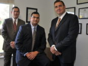 The Managing Members of CP Professional Services, from left to right: Stanley Puszcz, Joe Toscano and Ray Roggero. Photo provided.